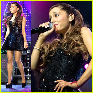 Ariana Grande: Listening Sessions NYC Concert Pics