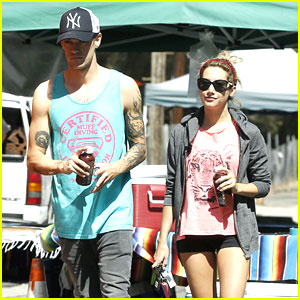 Ashley Tisdale & Christopher French: Food Truck Twosome