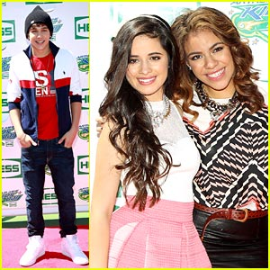 Austin Mahone & Fifth Harmony: Arthur Ashe Kids Day Pics!