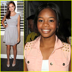 Gabby Douglas: Pre-Teen Choice Gifting Suite with Bailee Madison & Jillian Rose Reed