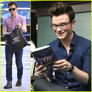Chris Colfer: 'The Land of Stories #2' Midnight Signing