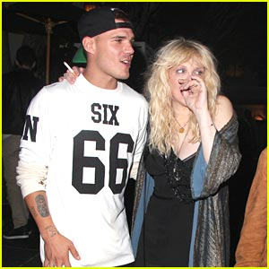 Chris Zylka & Maddie Hasson: Night Out with Courtney Love!