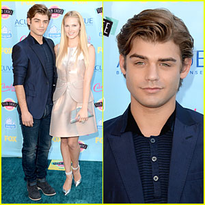 Garrett Clayton & Claudia Lee - Teen Choice Awards 2013