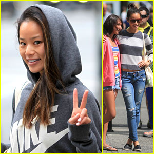 Jamie Chung Meets Fans in Vancouver