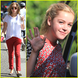 Kiernan Shipka: 'Flowers In The Attic' Filming