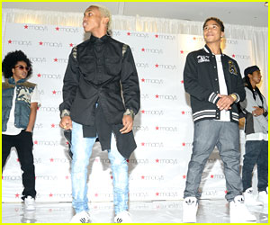 Mindless Behavior: Macy's Performance Pics!