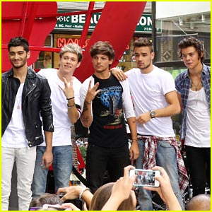 One Direction: 'Today Show' Performance Pics!