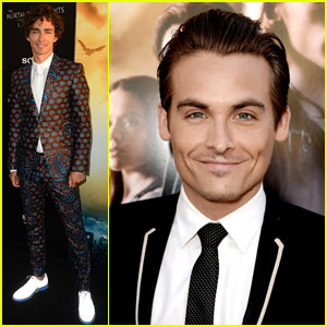 Robert Sheehan & Kevin Zegers: 'Mortal Instruments: City of Bones' Premiere
