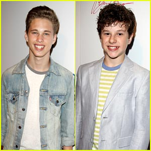 Ryan Beatty & Nolan Gould: 'From One Second to the Next' Screening!
