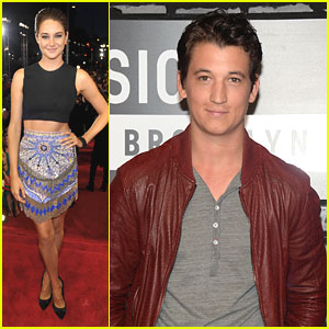 Shailene Woodley - MTV VMAs 2013 with Miles Teller!