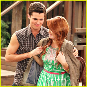 Spencer Boldman Guests on 'Jessie' -- See The Pics!