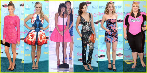Teen Choice Awards  Best Dressed Poll Vote Now