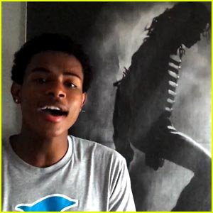 Trevor Jackson Covers Michael Jackson - Watch Now!
