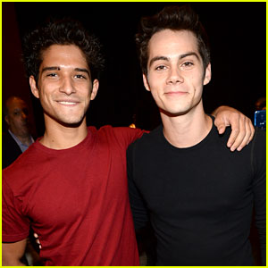 Tyler Posey & Dylan O'Brien - Young Hollywood Awards 2013