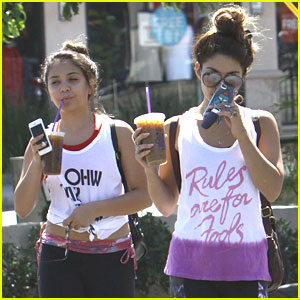 Vanessa Hudgens & Stella: Workout Women