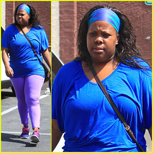 Amber Riley: Shopping After 'Dancing' Practice