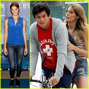 Ashley Greene & Graham Phillips: US Open Pair!