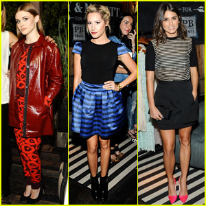 Ashley Tisdale & Holland Roden: Emily & Meritt for PBteen Launch