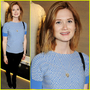 Bonnie Wright: Pringle of Scotland Store Launch