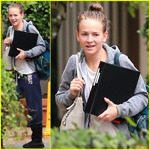 Britt Robertson Filming 'Tomorrowland' with George Clooney!