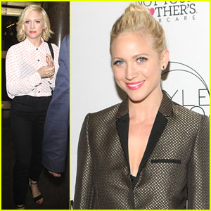 Brittany Snow: 'New York Live' Appearance Ahead of Style360 Closing Party