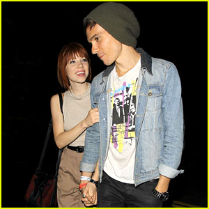 Carly Rae Jepsen & Matthew Koma: Lorde Concert Couple!