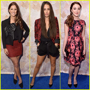 Chloe Bridges & Cassadee Pope: Alice + Olivia Fashion Show