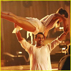Corbin Bleu & Karina Smirnoff: Contemporary Dance on 'DWTS' - Watch Now!