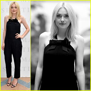Dakota Fanning: Venice Portrait Session!