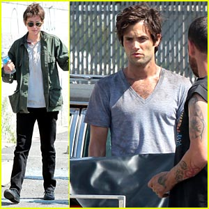 Dakota Johnson: Short Brown Hair for 'Cymbeline' with Penn Badgley!