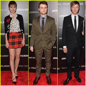 Daniel Radcliffe & Dane DeHaan: 'Kill Your Darlings' NYC Premiere