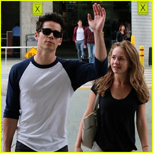 Dylan O'Brien Visits Britt Robertson in Vancouver!
