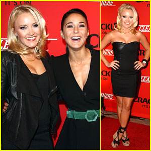 Emily Osment: 'Cleaners' Premiere Pretty