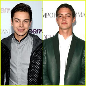 Jake T. Austin & Israel Broussard - Teen Vogue Young Hollywood Party 2013