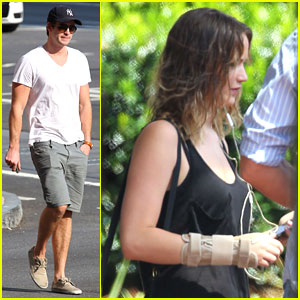 Liam Hemsworth & Jennifer Lawrence: 'Mockingjay' Filming Starts!