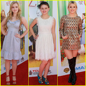 Joey King & Taylor Spreitler: 'Wizard of Oz 3D' Premiere!