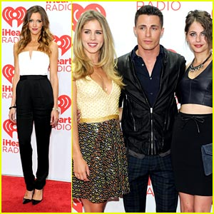 Katie Cassidy & Colton Haynes: 'Arrow' Cast Takes Over iHeartRadio Festival!