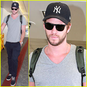 Liam Hemsworth: LAX Departure After Miley Cyrus Split