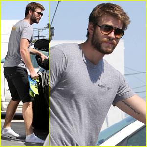 Liam Hemsworth Not Dating January Jones!