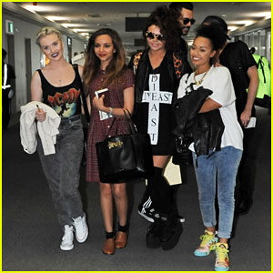Little Mix: Welcoming Arrival in Tokyo!