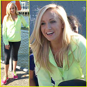 Nastia Liukin: Nickelodeon's Brooklyn Bridge Mini-Triathlon