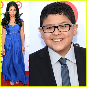Rico Rodriguez & Chrissie Fit: ALMA Awards 2013