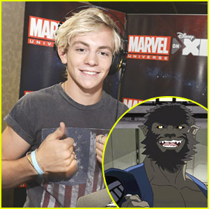 Ross Lynch is a 'Werewolf By Night' for Marvel's Ultimate Spider-Man - Exclusive Pics!