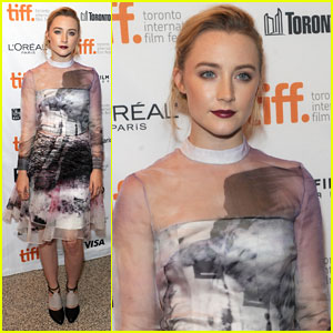 Saoirse Ronan: 'How I Live Now' TIFF Premiere