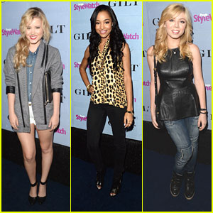 Taylor Spreitler & Jennette McCurdy: People StyleWatch Denim Awards 2013