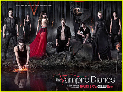 'The Vampire Diaries' Season 5 Poster Revealed!