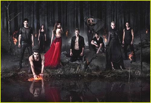 Nina Dobrev & Candice Accola: New 'Vampire Diaries' Promo Pics!