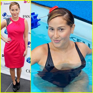 Adrienne Bailon: Swim for Relief Participant!