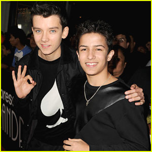 Asa Butterfield: 'Bad Grandpa' Premiere with Aramis Knight