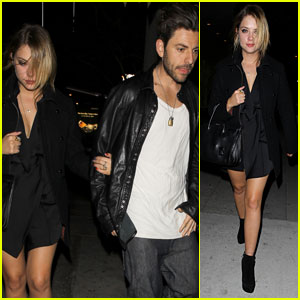 Ashley Benson: Usher's Birthday Party with Ryan Good!
